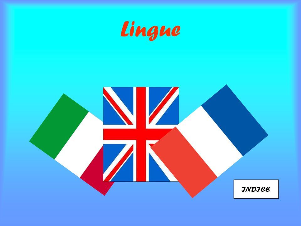 Lingue INDICE