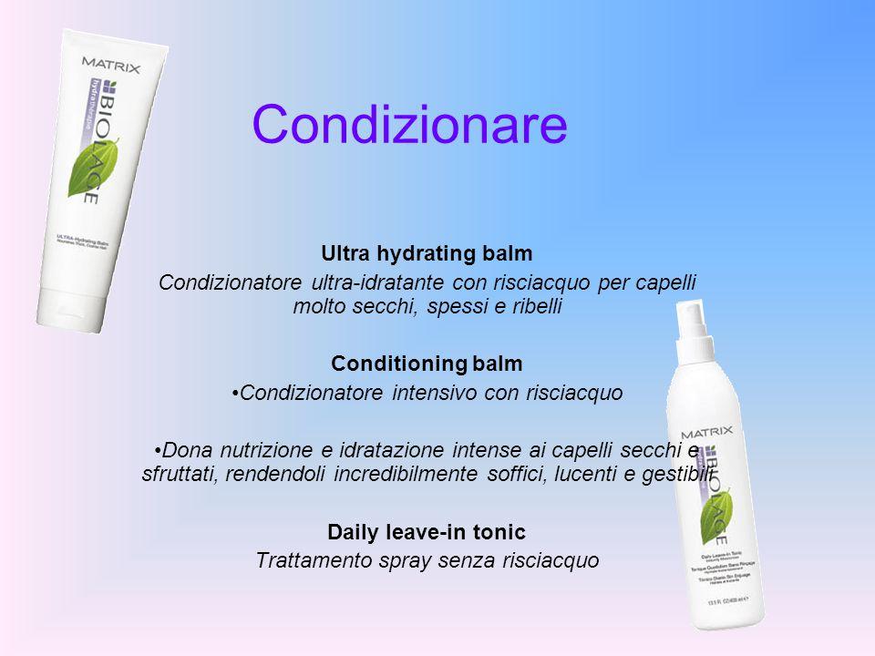 Condizionare Ultra hydrating balm Condizionatore ultra-idratante con risciacquo per capelli molto secchi, spessi e ribelli Conditioning balm Condizion