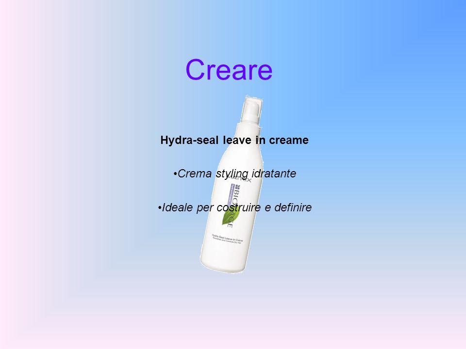 Creare Hydra-seal leave in creame Crema styling idratante Ideale per costruire e definire