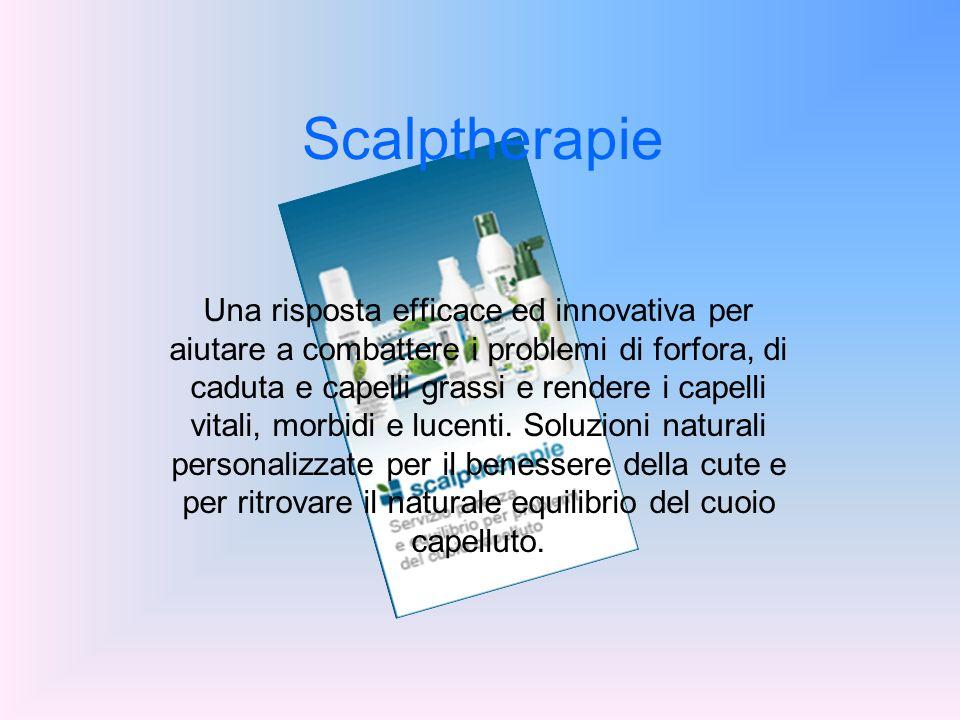 Scalptherapie Una risposta efficace ed innovativa per aiutare a combattere i problemi di forfora, di caduta e capelli grassi e rendere i capelli vital
