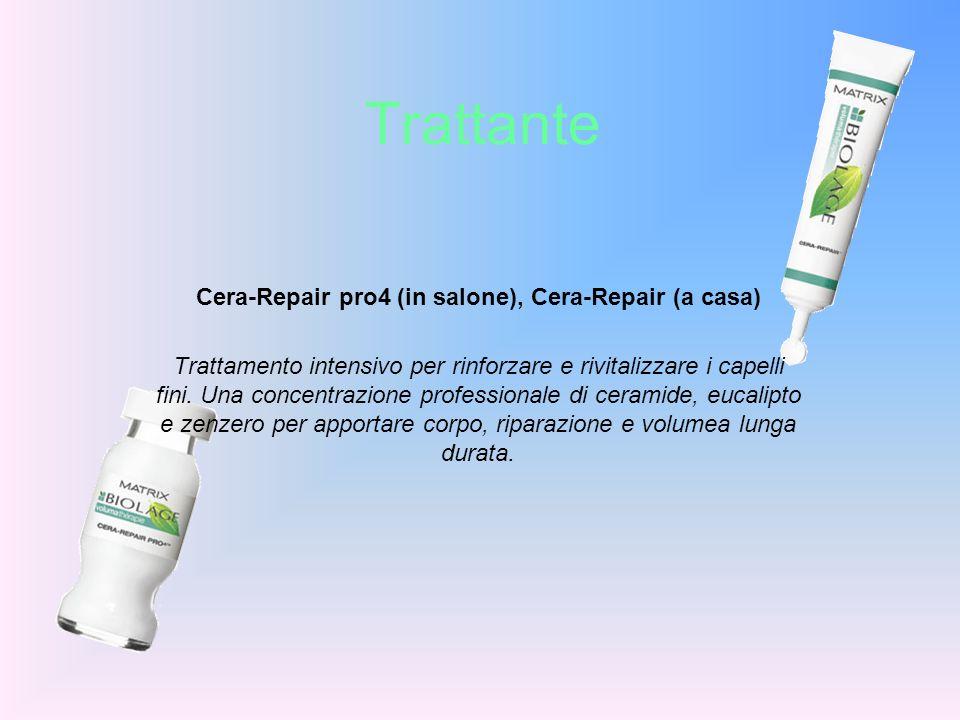 Trattante Cera-Repair pro4 (in salone), Cera-Repair (a casa) Trattamento intensivo per rinforzare e rivitalizzare i capelli fini. Una concentrazione p