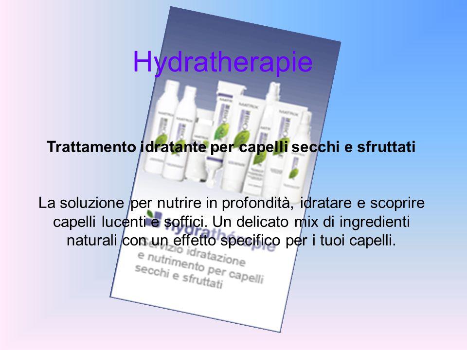 Hydratherapie Trattamento idratante per capelli secchi e sfruttati La soluzione per nutrire in profondità, idratare e scoprire capelli lucenti e soffi