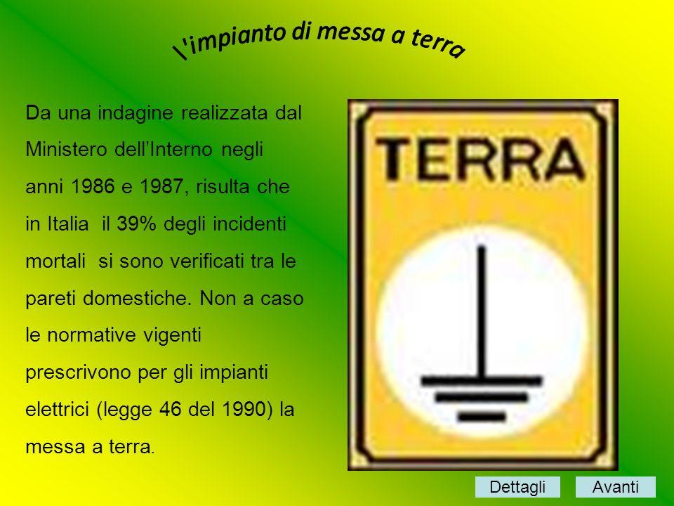 Da una indagine realizzata dal Ministero dellInterno negli anni 1986 e 1987, risulta che in Italia il 39% degli incidenti mortali si sono verificati t