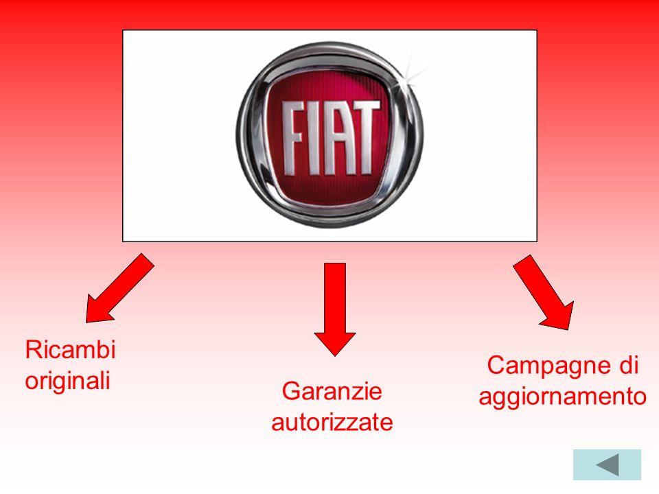 Ricambi originali Garanzie autorizzate Campagne di aggiornamento
