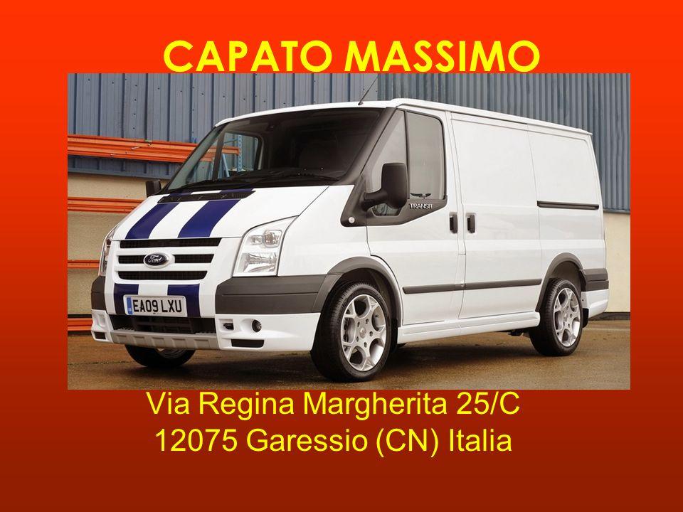 CAPATO MASSIMO Via Regina Margherita 25/C 12075 Garessio (CN) Italia