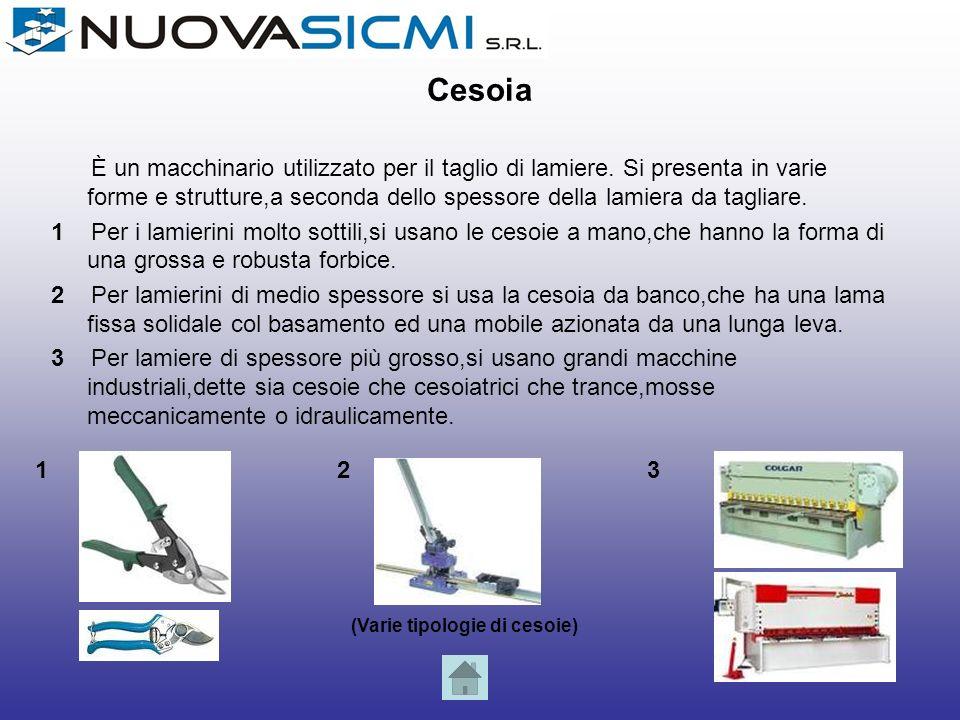 Fresatrice La fresatrice è una macchina utensile usata per la lavorazione in forme complesse di parti metalliche o di altri materiali.