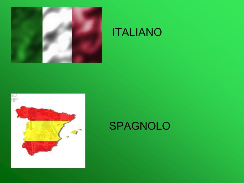 ITALIANO SPAGNOLO