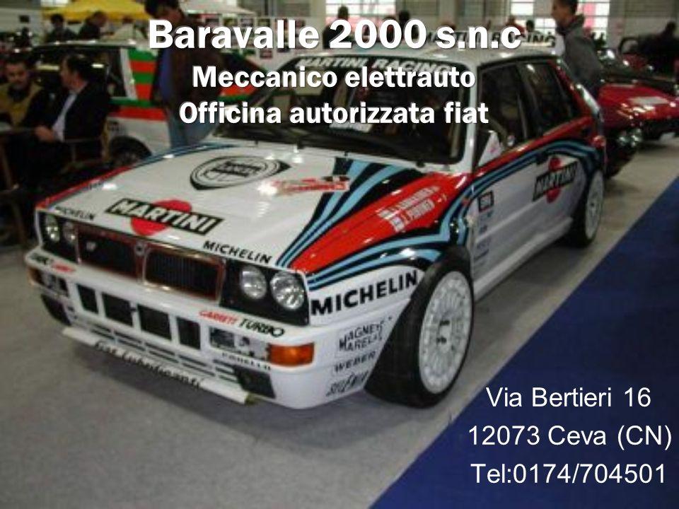Via Bertieri 16 12073 Ceva (CN) Tel:0174/704501