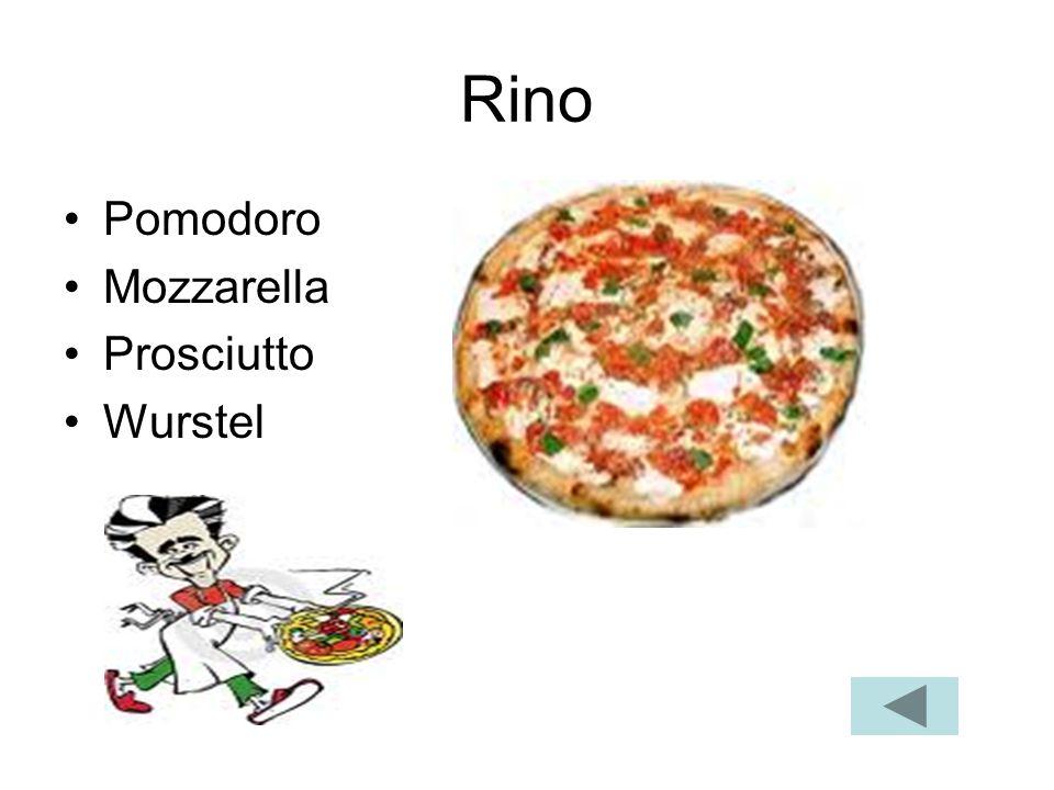 Rino Pomodoro Mozzarella Prosciutto Wurstel