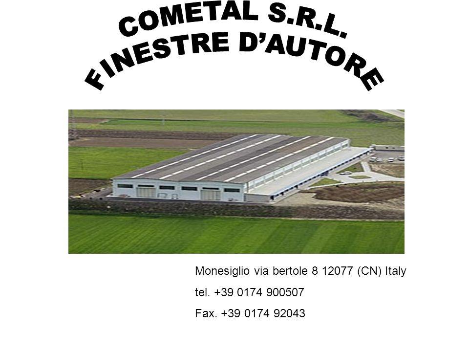 Monesiglio via bertole 8 12077 (CN) Italy tel. +39 0174 900507 Fax. +39 0174 92043