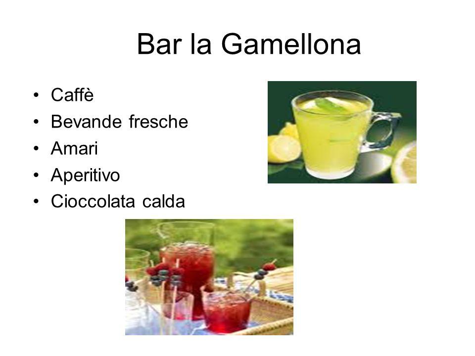 Bar la Gamellona Caffè Bevande fresche Amari Aperitivo Cioccolata calda