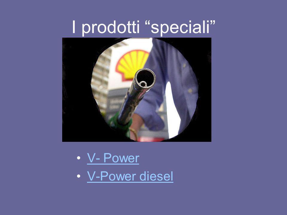 I prodotti speciali V- Power V-Power diesel