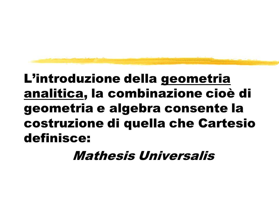 Lobiettivo che Cartesio si propone di perseguire è lunità del sapere.