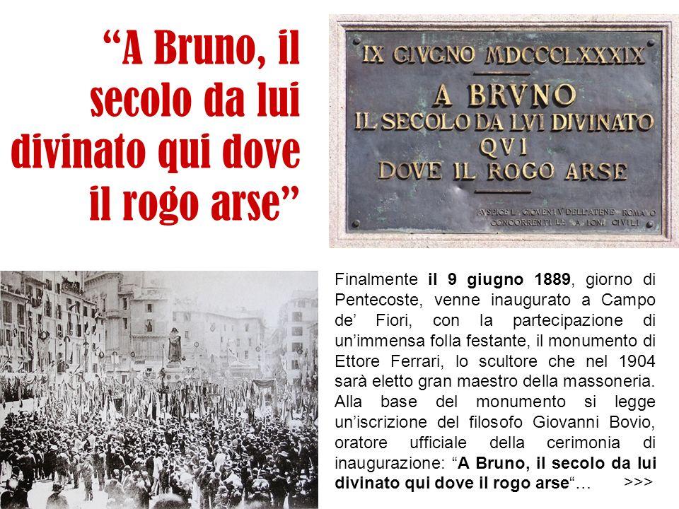 Viva Crispi! Il pontefice minacciò di abbandonare Roma per rifugiarsi nella cattolica Austria, qualora la statua fosse stata scoperta al pubblico. Qua
