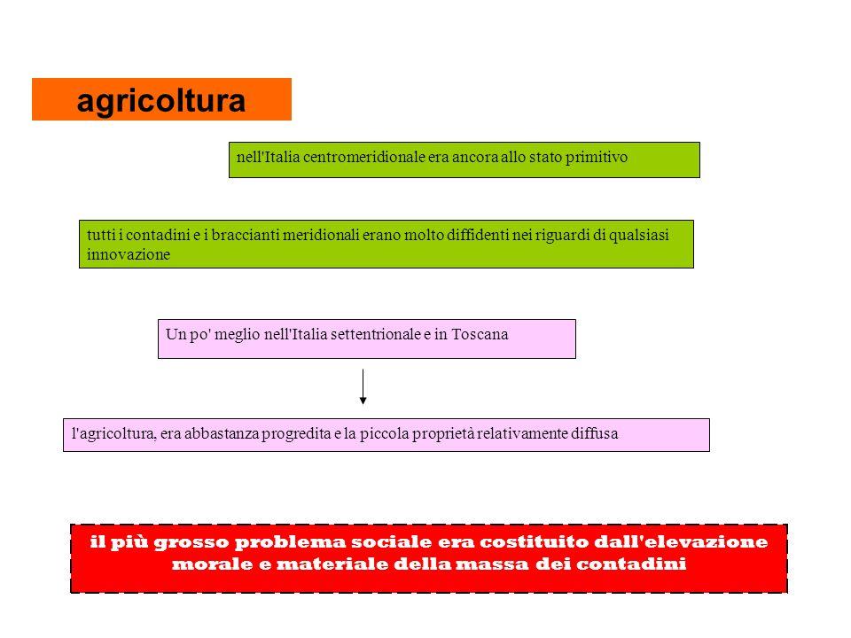 …I GRAVI PROBLEMI DEL NUOVO REGNO Lavori pubblici strade, ponti, acquedotti, scuole, ospedali, ferrovie, gallerie 1860 nel regno di Napoli su circa 18