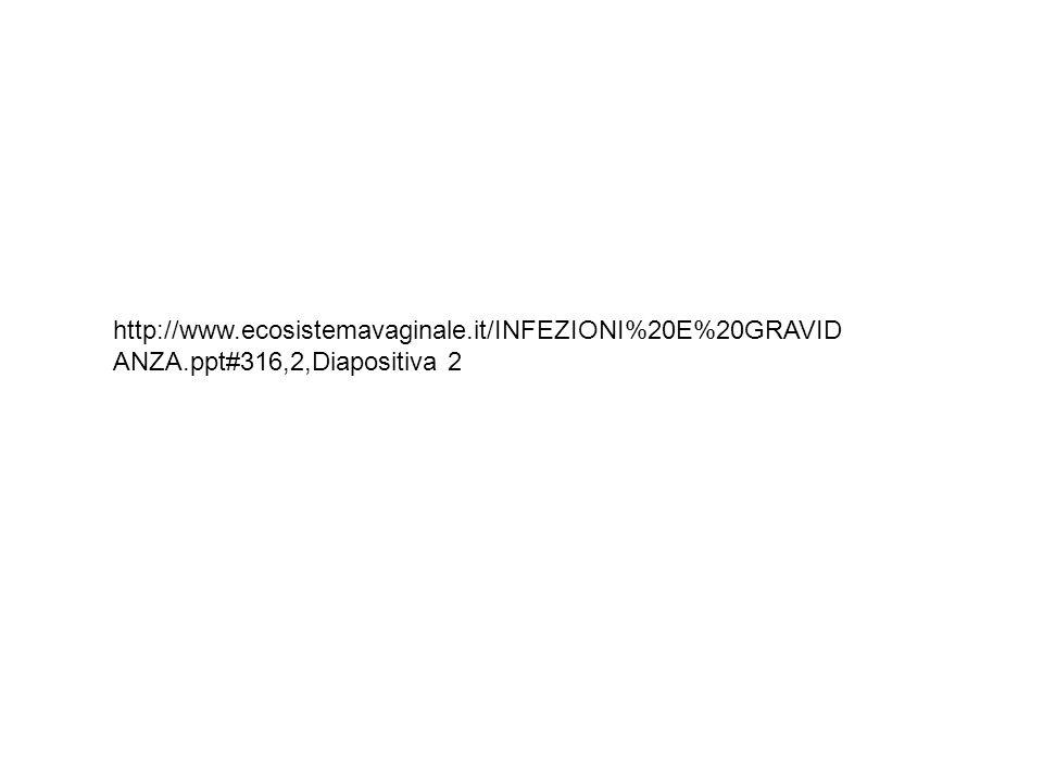 http://www.ecosistemavaginale.it/INFEZIONI%20E%20GRAVID ANZA.ppt#316,2,Diapositiva 2