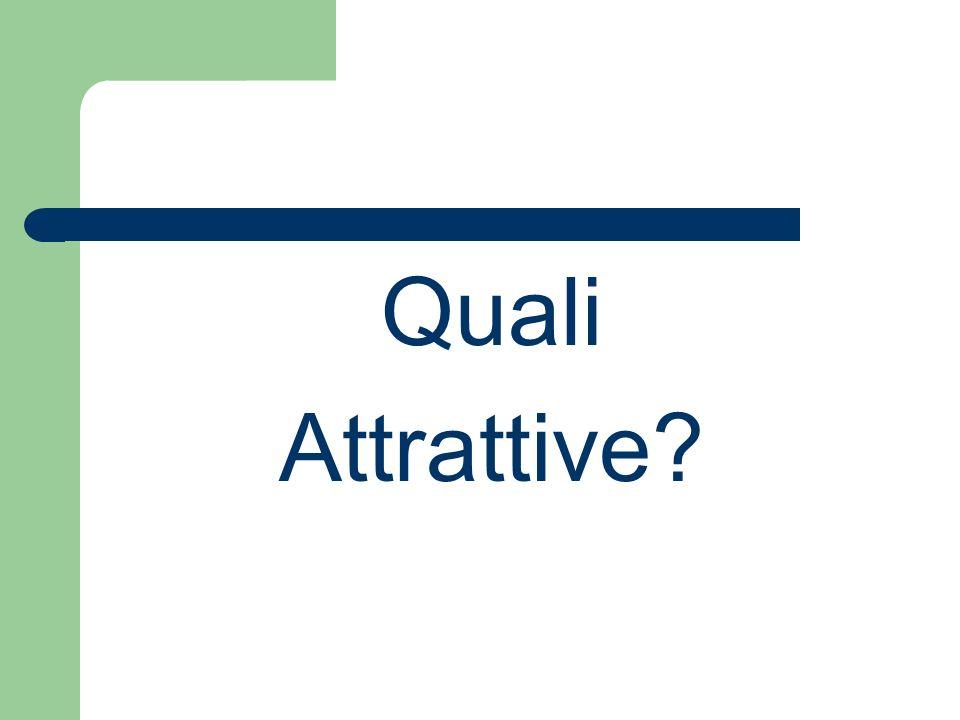 Quali Attrattive?
