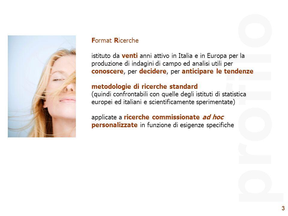 3 profilo Format Ricerche istituto da venti anni attivo in Italia e in Europa per la produzione di indagini di campo ed analisi utili per conoscere, p