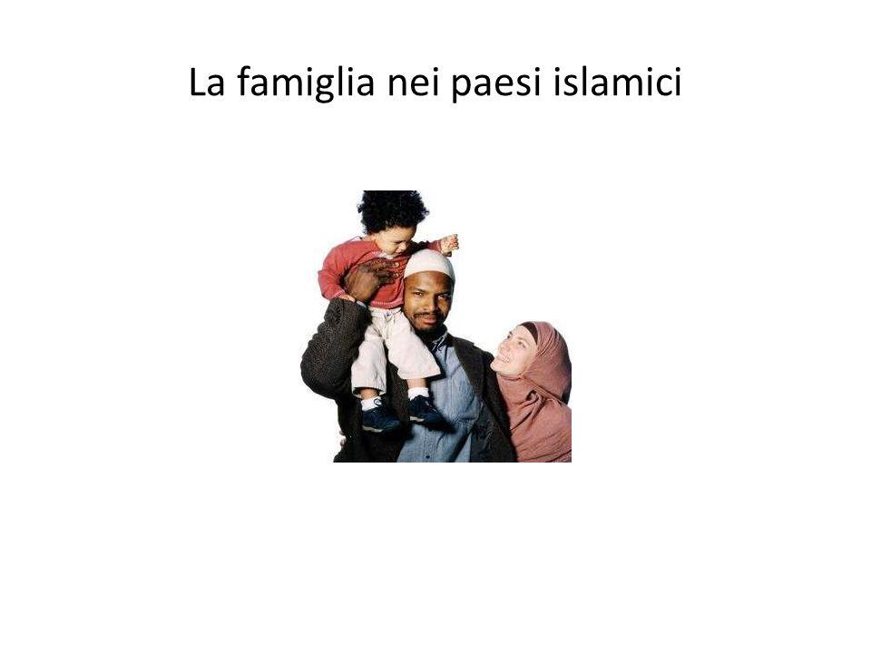 La famiglia nei paesi islamici