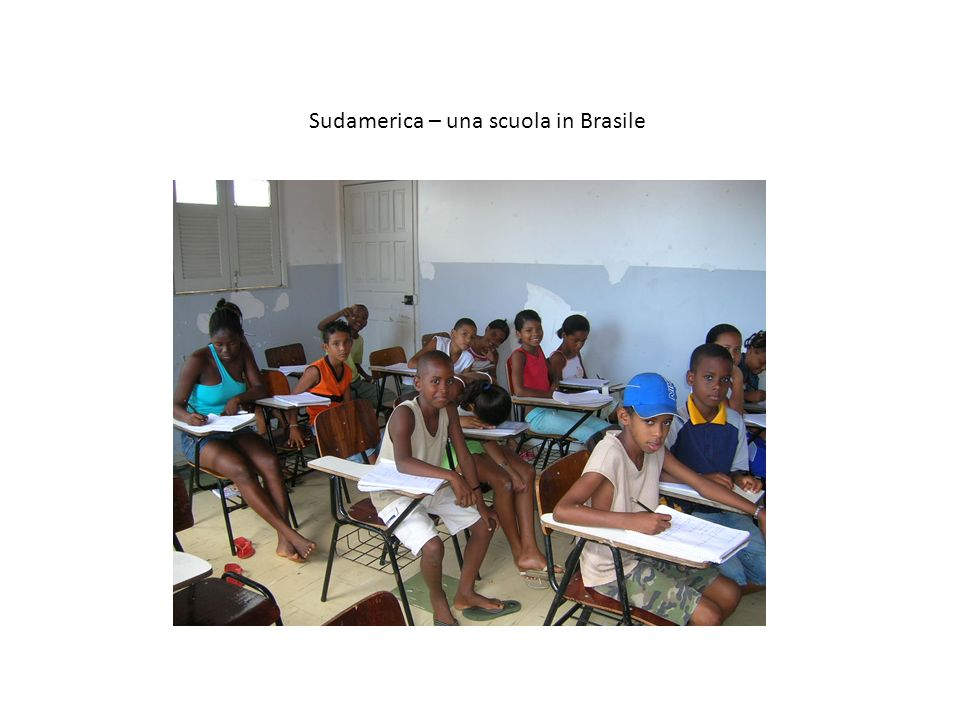 Sudamerica – una scuola in Brasile