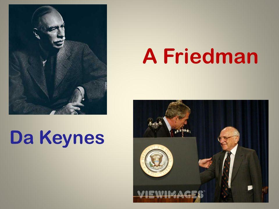 Da Keynes A Friedman