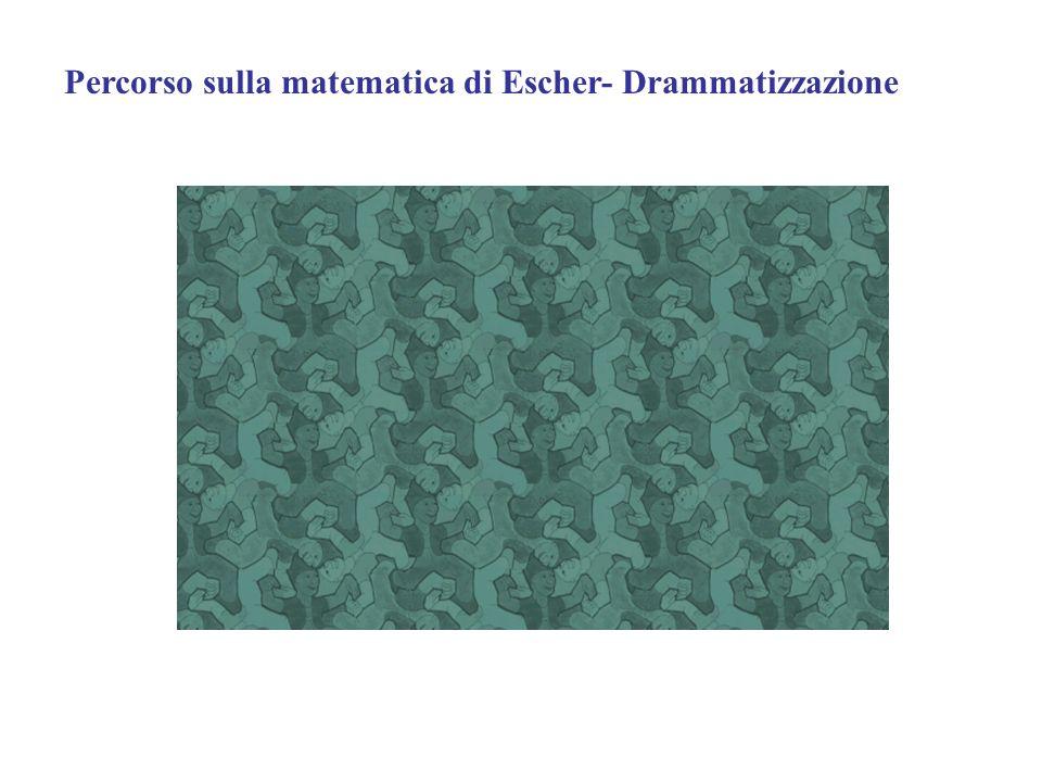 Percorso sulla matematica di Escher- Drammatizzazione