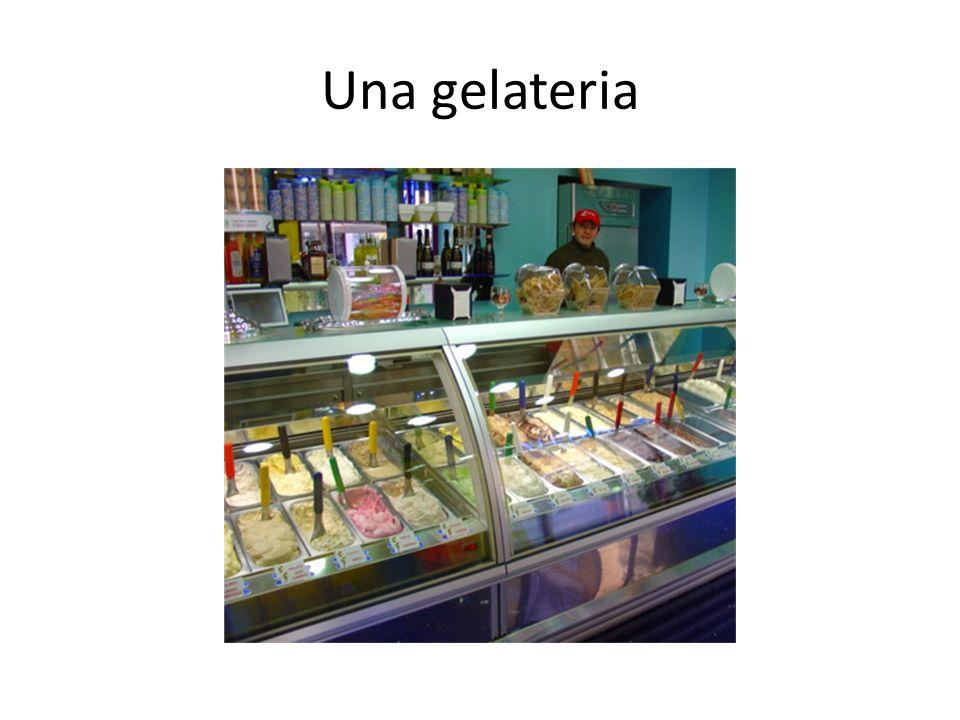 Una gelateria