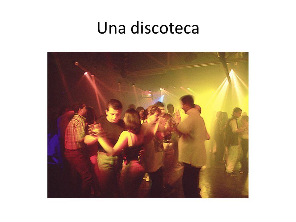Una discoteca