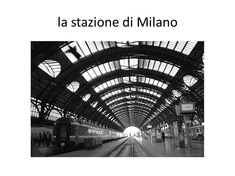 la stazione di Milano