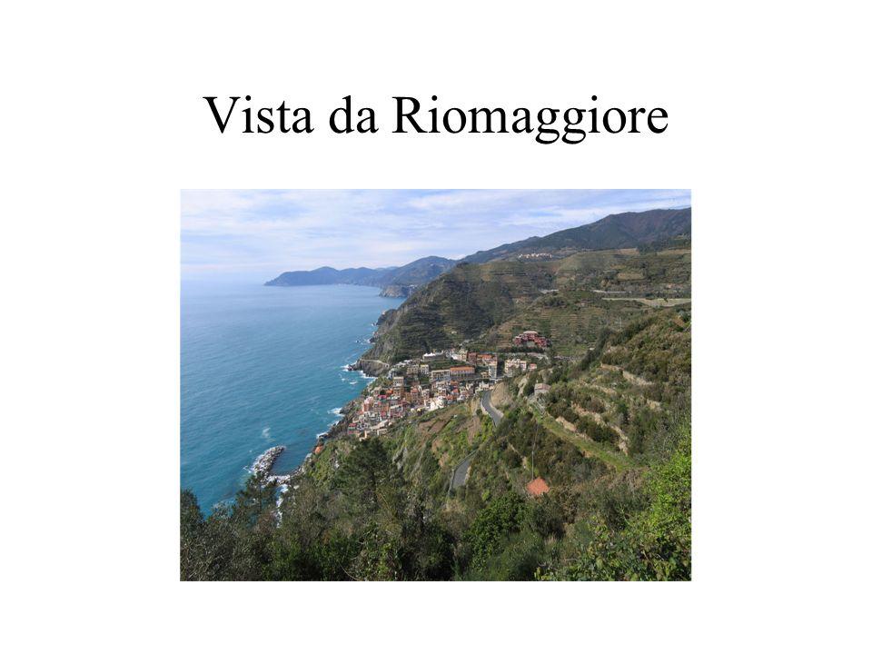 Vista da Riomaggiore