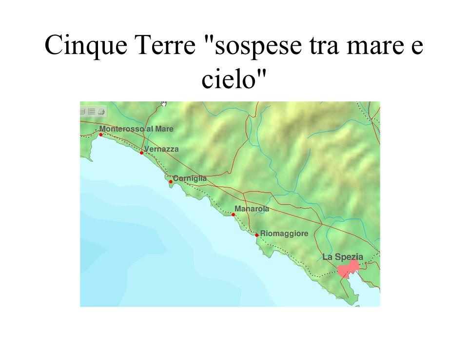 La Riviera delle Cinque Terre: panorami favolosi