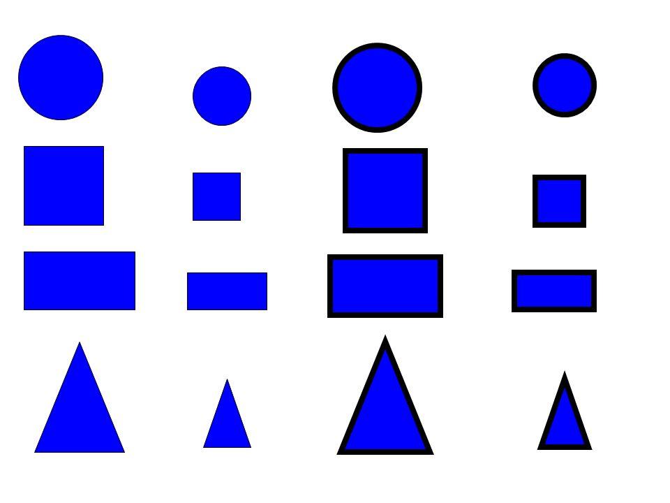 Associare il colore ai vari oggetti proposti Per esempio: Collega i blocchi logici con gli oggetti dello stesso colore.