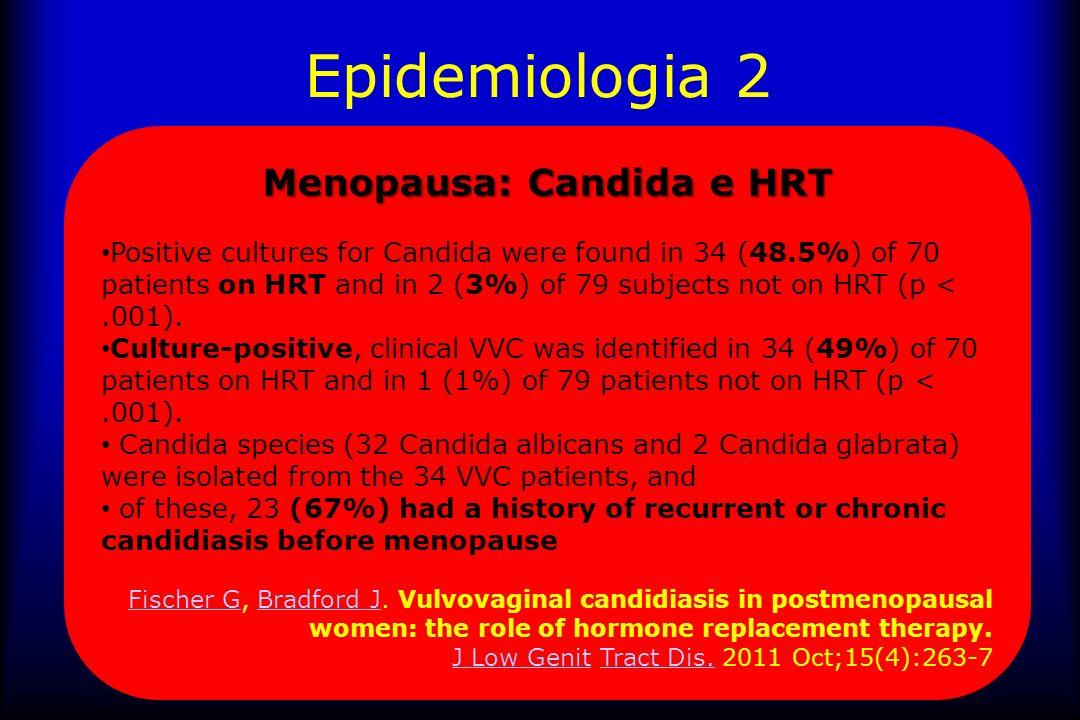 Candida: ceppi 85-95% Candida Albicans 54% delle diabetiche ha Candida Glabrata (contro 22,6% delle non diabetiche) 5% ha Candida Krusei, Tropicalis 1- 2% ha Candida Parapsilosis 0,2% ha Candida Pseudotropicalis A.
