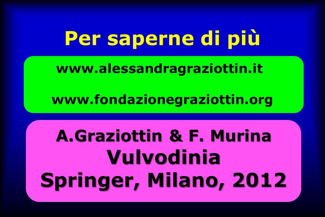 Per saperne di più www.alessandragraziottin.it www.fondazionegraziottin.org A.Graziottin & F.