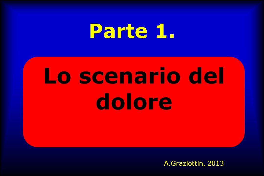 Parte 1. Lo scenario del dolore A.Graziottin, 2013