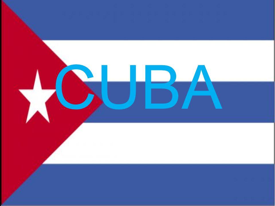 GEOGRAFIA Cuba è posta tra il mare dei Caraibi, il Golfo del Messico e dall oceano atlantico.