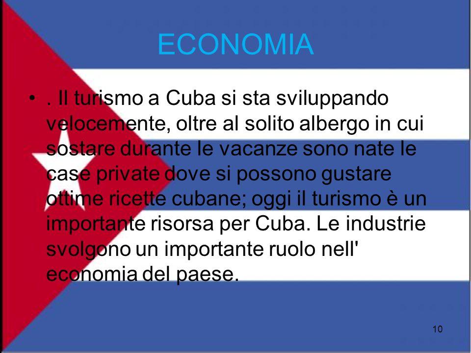 . Il turismo a Cuba si sta sviluppando velocemente, oltre al solito albergo in cui sostare durante le vacanze sono nate le case private dove si posson