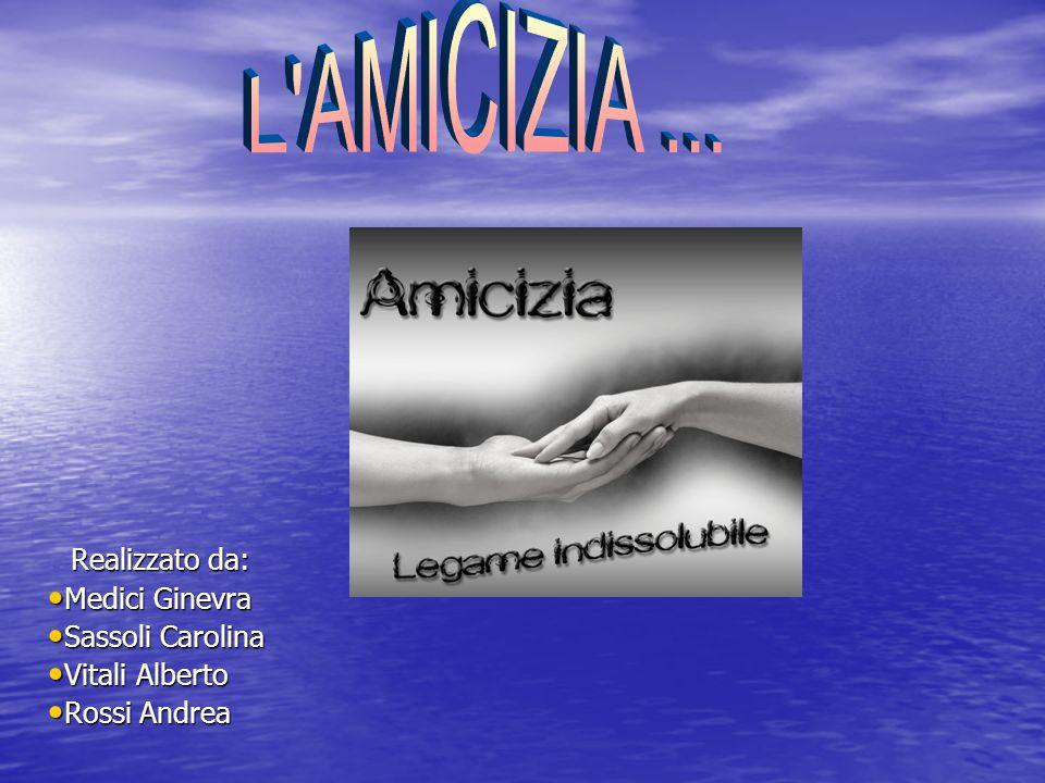 Realizzato da: Medici Ginevra Sassoli Carolina Vitali Alberto Rossi Andrea