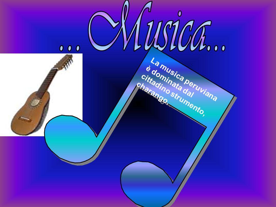 La musica peruviana è dominata dal cittadino strumento, charango.
