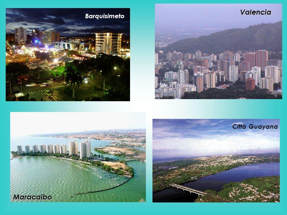 Maracaibo Valencia Barquisimeto Città Guayana