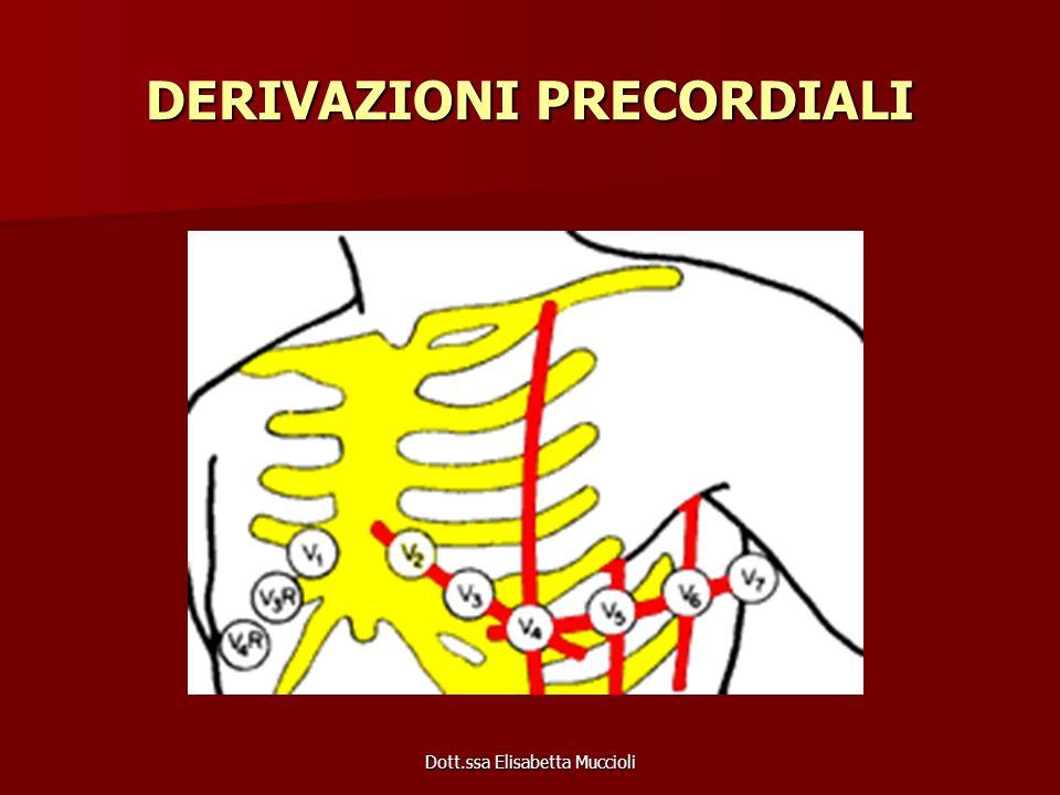 Dott.ssa Elisabetta Muccioli DERIVAZIONI PRECORDIALI