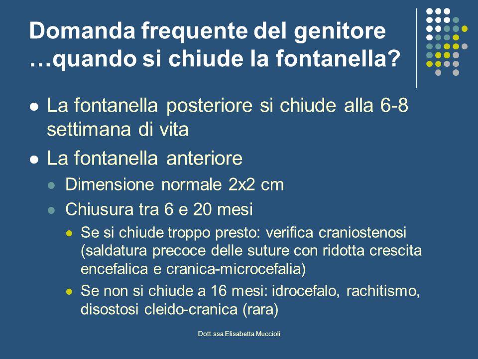 Dott.ssa Elisabetta Muccioli MICROCRANIA Condizione malformativa in cui la circonferenza cranica è inferiore al 3 percentile