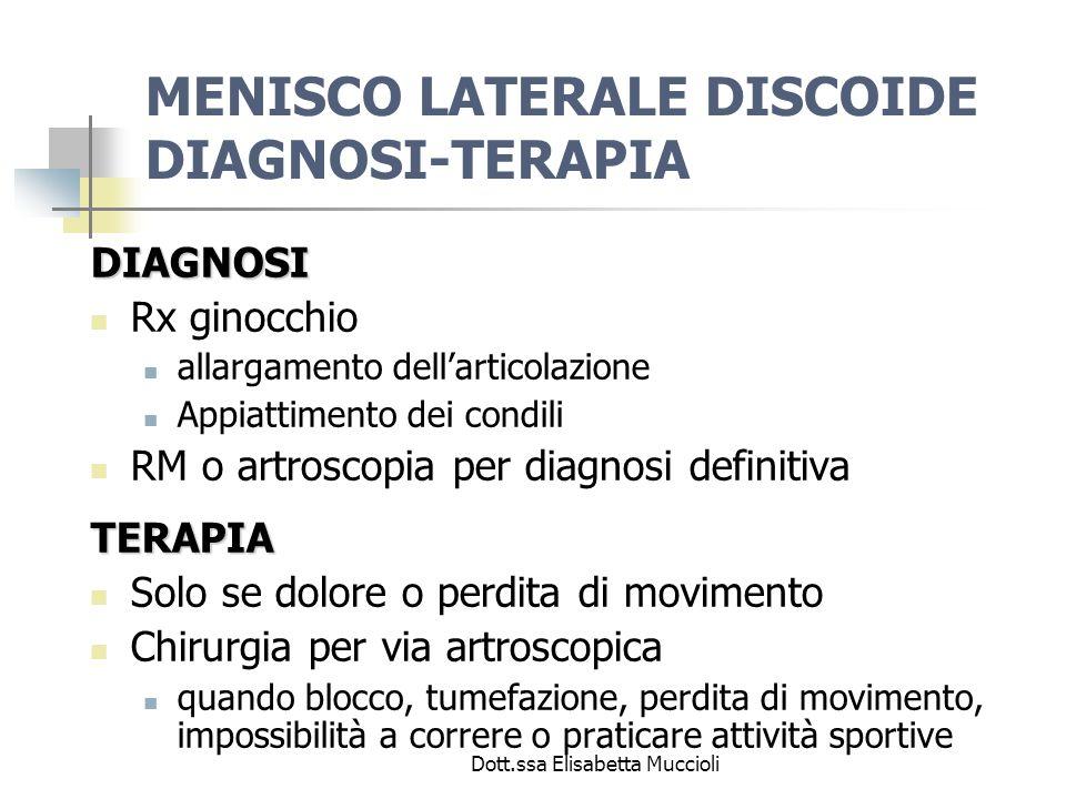 Dott.ssa Elisabetta Muccioli CISTI POPLITEA