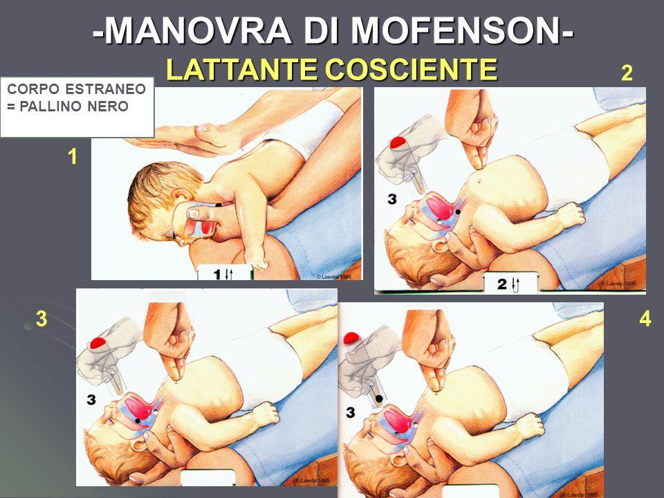 Dott.ssa Elisabetta Muccioli -MANOVRA DI MOFENSON- LATTANTE COSCIENTE CORPO ESTRANEO = PALLINO NERO 1 2 43