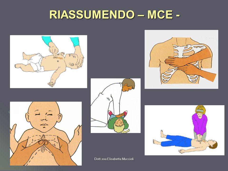 Dott.ssa Elisabetta Muccioli RIASSUMENDO – MCE -