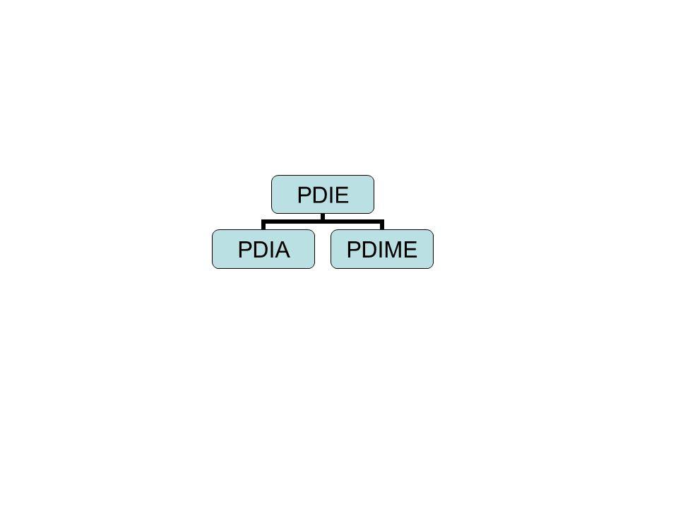 PDIE PDIAPDIME
