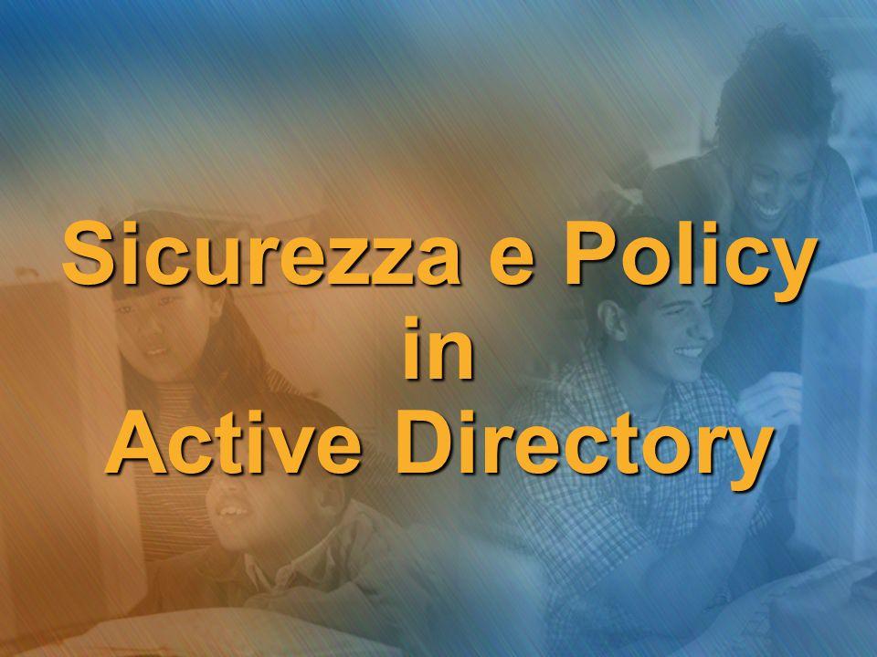 Creazione di una GPO Per creare una nuova GPO a livello di dominio in Active Directory… continua…