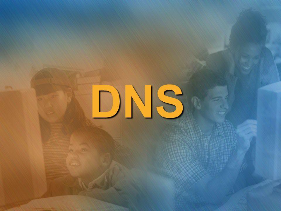 Un esempio di DNS in un dominio Windows 2003 Consideriamo la seguente rete Windows 2003 con un solo dominio… Domain Controller del dominio: maxwell.local PC-2PC-3PC-1 PC-4 PC-5 DC
