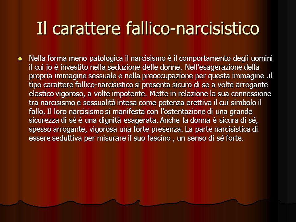 Il carattere narcisistico Hanno un immagine dellio più grande, non sono attraenti, sono i più attraenti, james f.