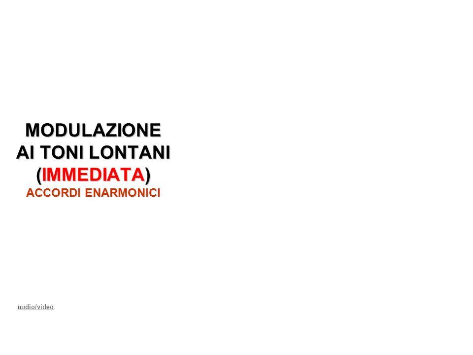 audio/video MODULAZIONE AI TONI LONTANI (IMMEDIATA) ACCORDI ENARMONICI